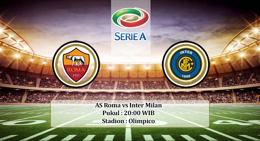 Prediksi AS Roma vs Inter Milan 26 April 2020