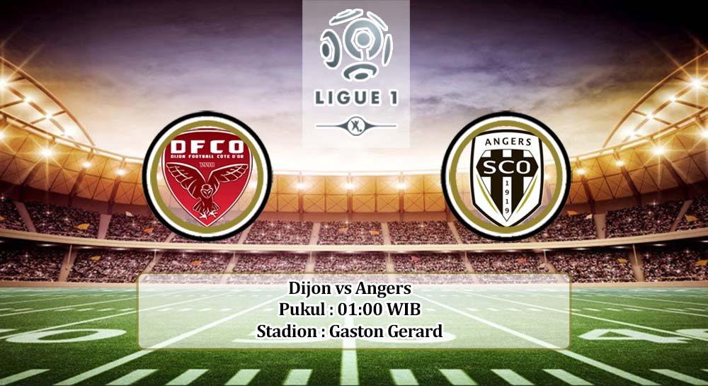 Prediksi Dijon vs Angers 19 April 2020