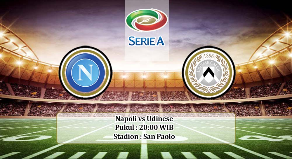 Prediksi Napoli vs Udinese 26 April 2020