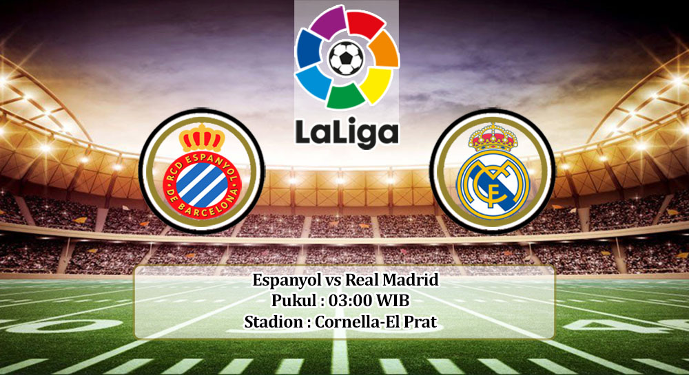 Prediksi Espanyol vs Real Madrid 29 Juni 2020