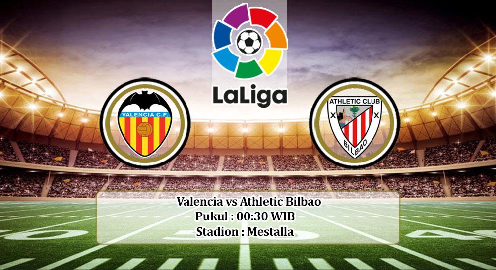 Prediksi Valencia vs Athletic Bilbao 2 Juli 2020