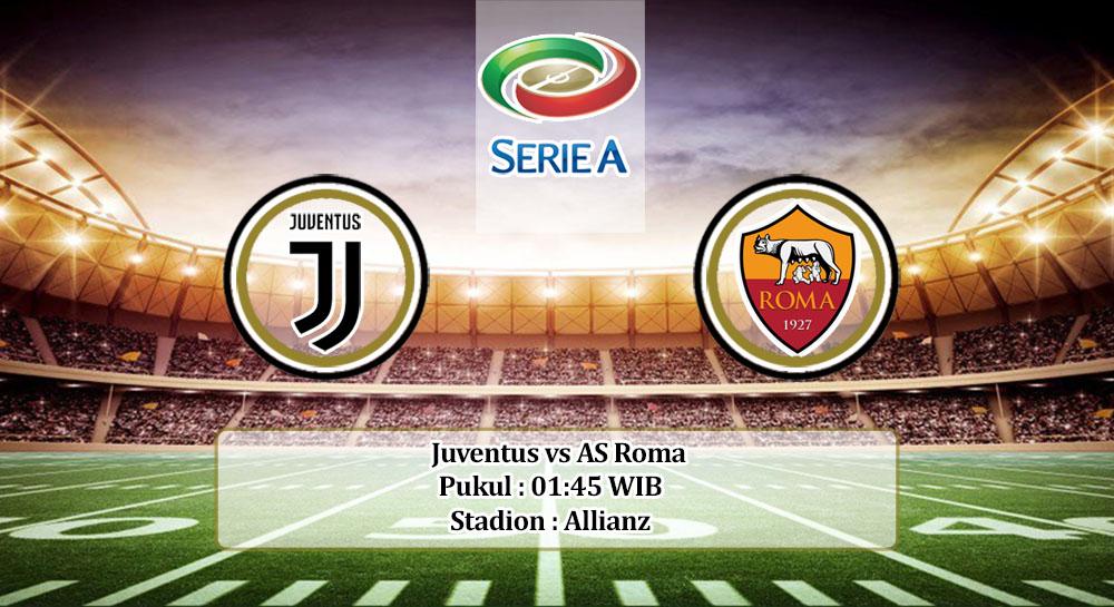 Prediksi Juventus vs AS Roma 2 Agustus 2020