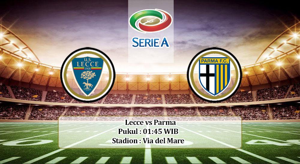 Prediksi Lecce vs Parma 3 Agustus 2020