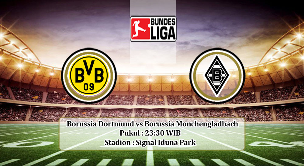 Prediksi Borussia Dortmund vs Borussia Monchengladbach 19 September 2020