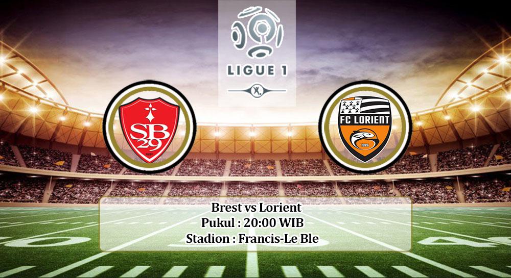 Prediksi Brest vs Lorient 20 September 2020