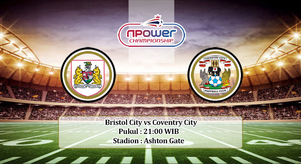 Prediksi Bristol City vs Coventry City 12 September 2020
