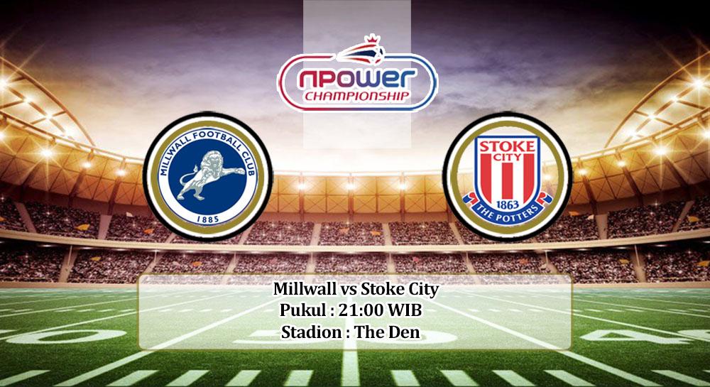 Prediksi Millwall vs Stoke City 12 September 2020