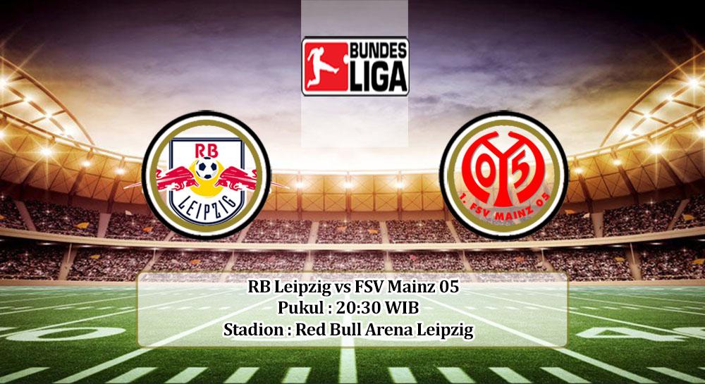 Prediksi RB Leipzig vs FSV Mainz 05 20 September 2020