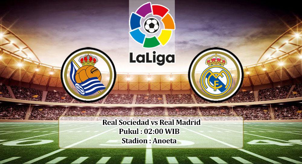 Prediksi Real Sociedad vs Real Madrid 21 September 2020