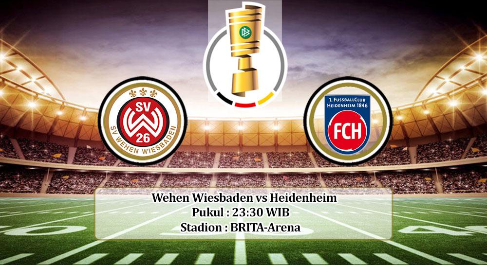 Prediksi Wehen Wiesbaden vs Heidenheim 13 September 2020