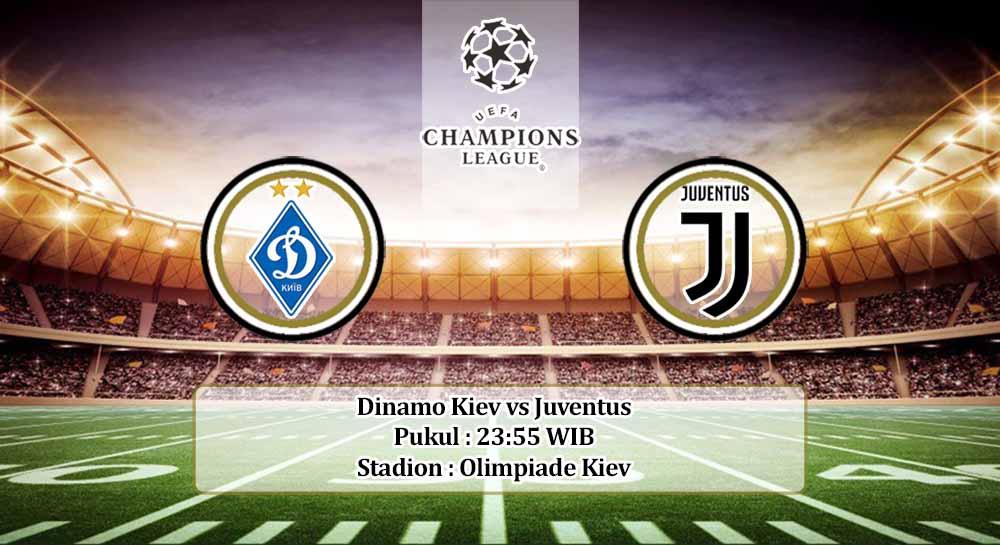 Prediksi Dinamo Kiev vs Juventus 20 Oktober 2020