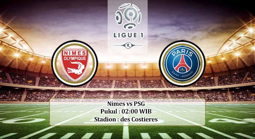 Prediksi Nimes vs PSG 17 Oktober 2020