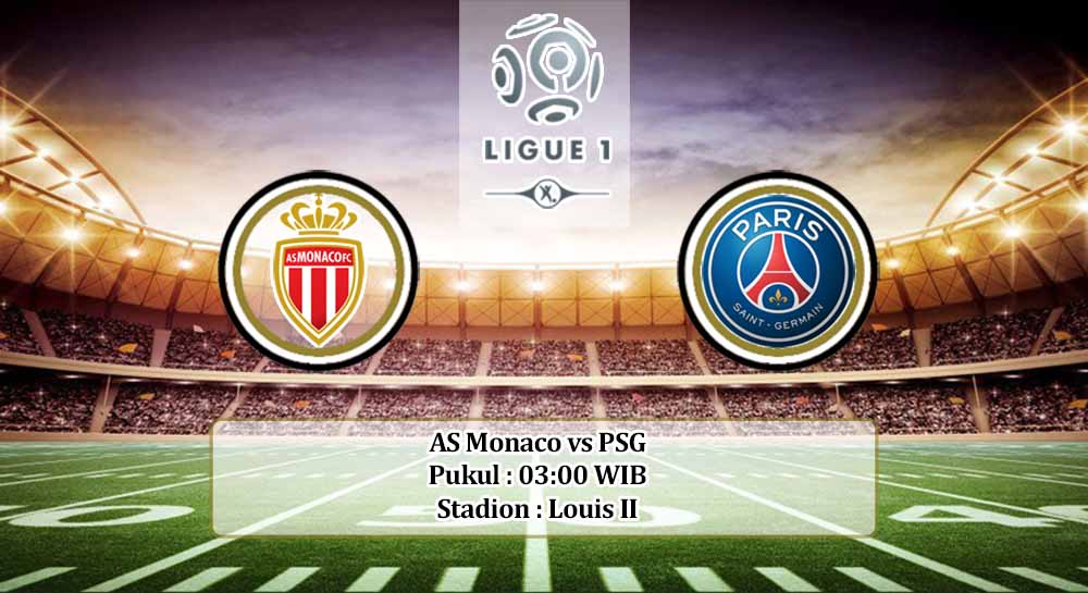 Prediksi AS Monaco vs PSG 21 November 2020