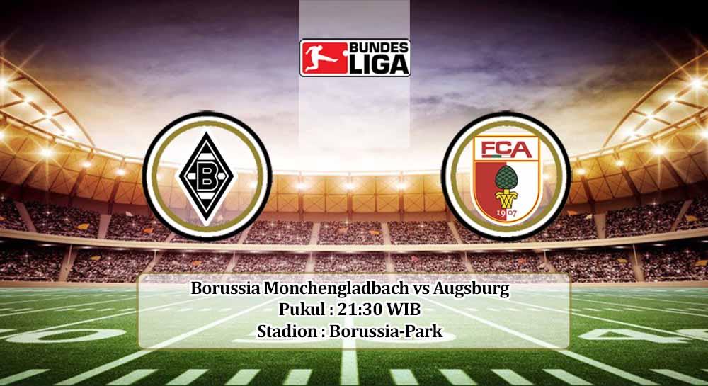 Prediksi Borussia Monchengladbach vs Augsburg 21 November 2020
