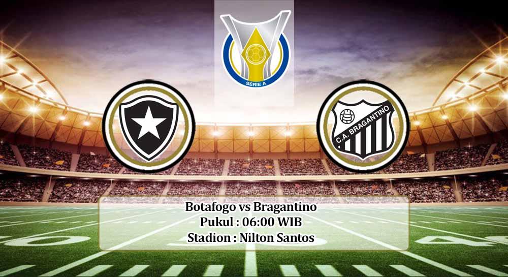 Prediksi Botafogo vs Bragantino 17 November 2020
