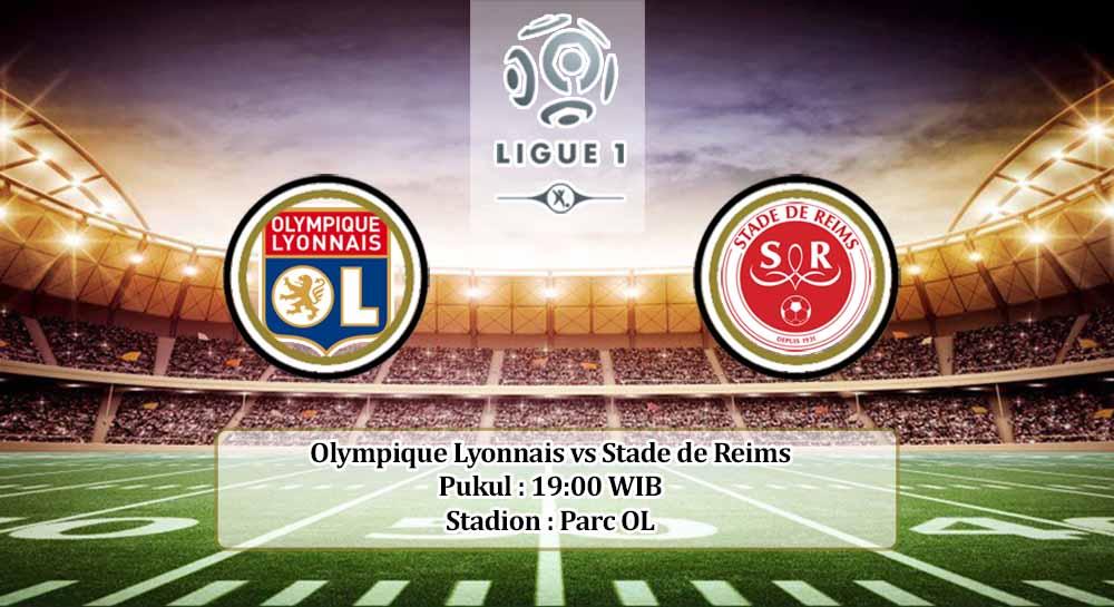 Prediksi Olympique Lyonnais vs Stade de Reims 29 November 2020