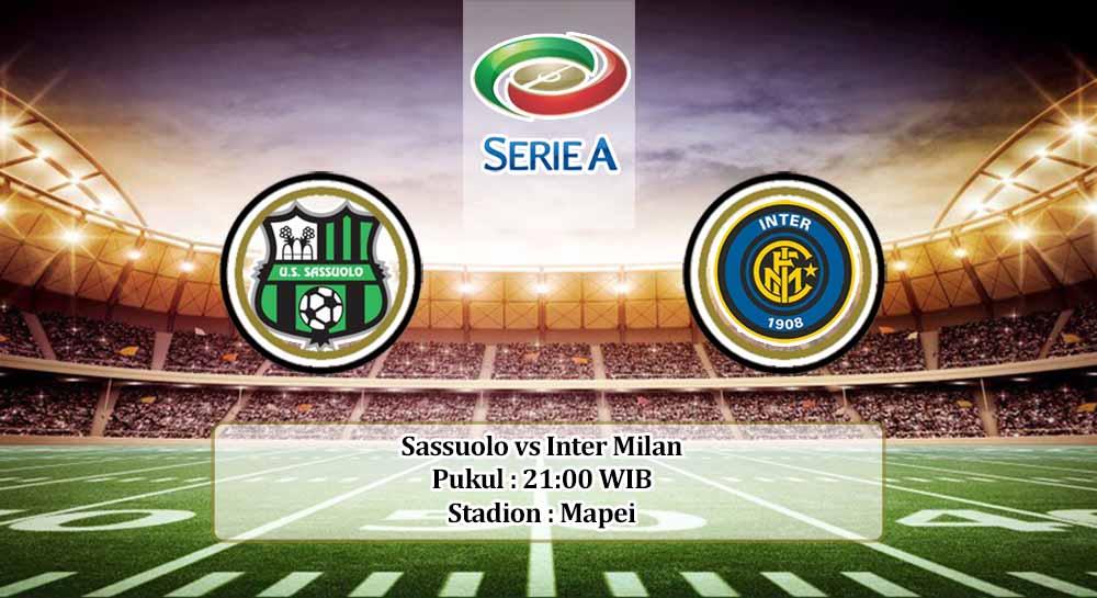 Prediksi Sassuolo vs Inter Milan 28 November 2020