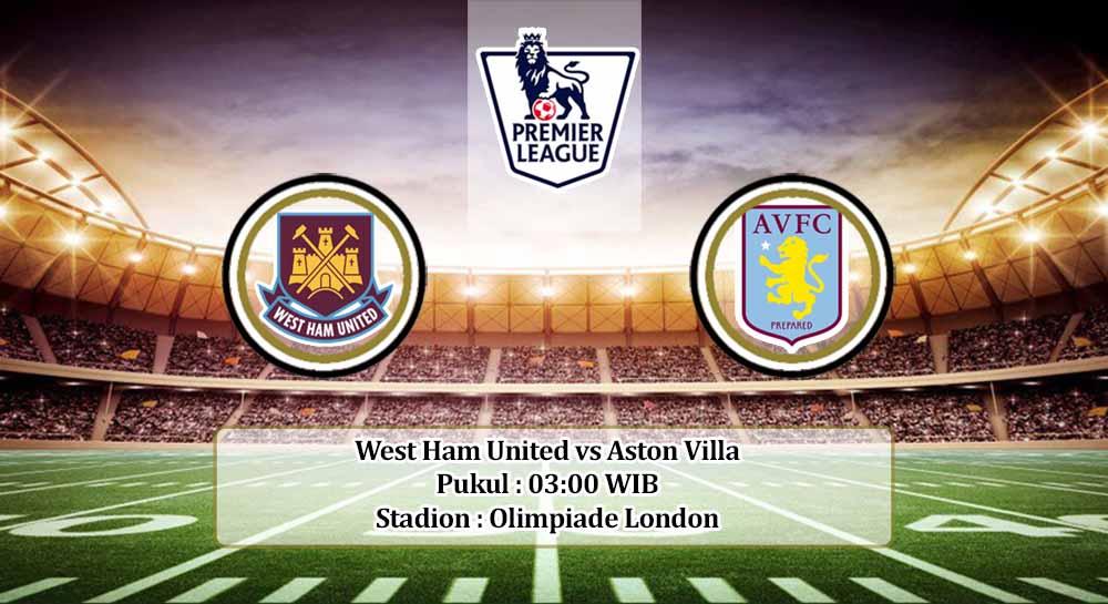 Prediksi West Ham United vs Aston Villa 1 Desember 2020